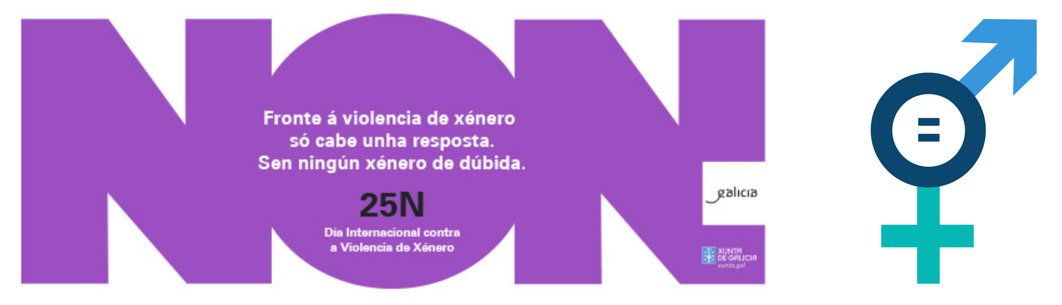 Non a violencia de xénero/Igualdade de xénero
